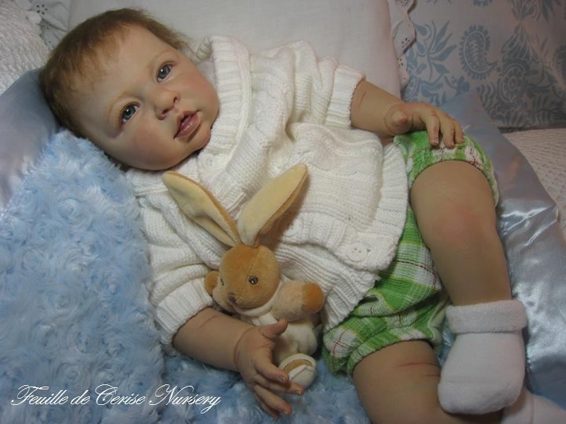 Anthony - bébé reborn garçon