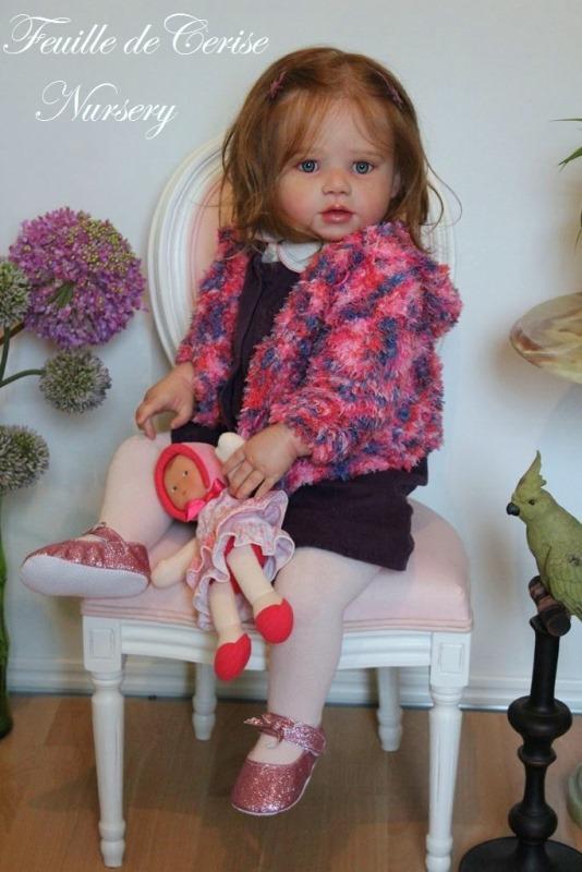 Amélia - reborn toddler fille