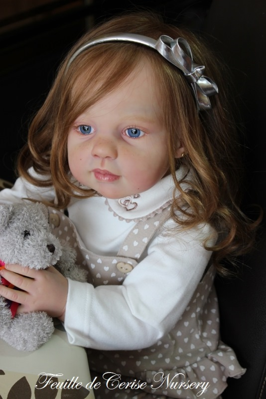 Eileen - reborn toddler fille