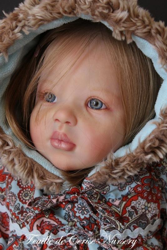 Eléa - reborn petite fille